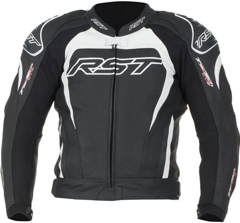 motorcycle riding jackets for men rst mens tractech evo ii armored leather sport motorcycle