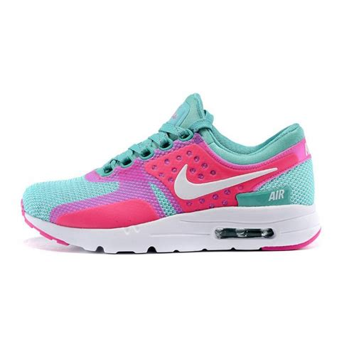 nike womens turquoise running shoes nike air max zero qs womens running shoes turquoise pink