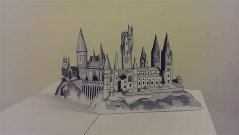 Hogwarts Papercraft - hogwarts castle pop up by willziakds on deviantart