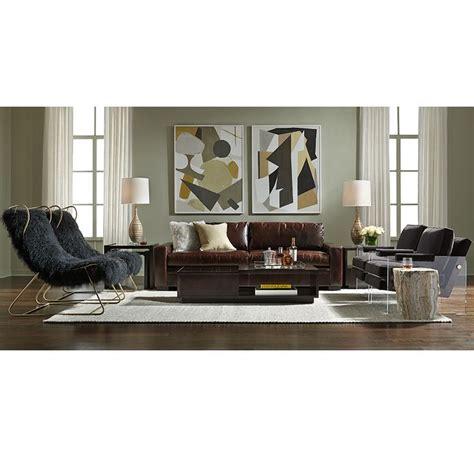 conrad leather sofa mitchell gold bob williams