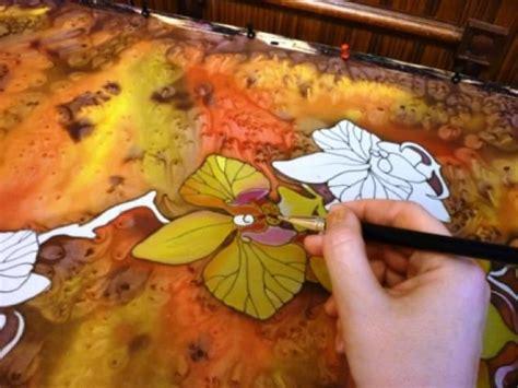 Mirna Batik orchid batik painting tutorial from ignatova
