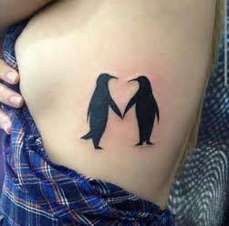 Cute Matching Tattoo Ideas For Couples 90 Penguin Tattoos For The Animal Lover
