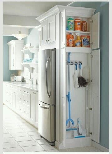 Storage Cabinets For Mops And Brooms by Mudroom Mop And Broom Storage To Build For The Home