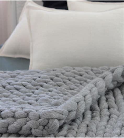 Comment Tricoter Un Plaid En by Image Plaid Tricot