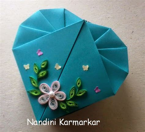 origami box with a4 paper paint paper scissors origami box snehal s