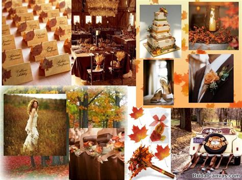 wedding fall decorations tbdress fall wedding themes can make your wedding a