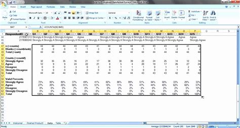 10 Microsoft Excel Survey Template Exceltemplates Exceltemplates Microsoft Excel Survey Template