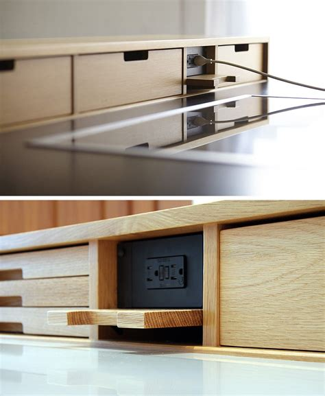 kitchen design idea hide your electrical outlets