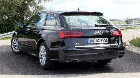 Test Audi A6 Avant 2 0 Tdi by 2018 Audi A6 Avant 2 0 Tdi Ultra 190 Hp Test Drive Youtube