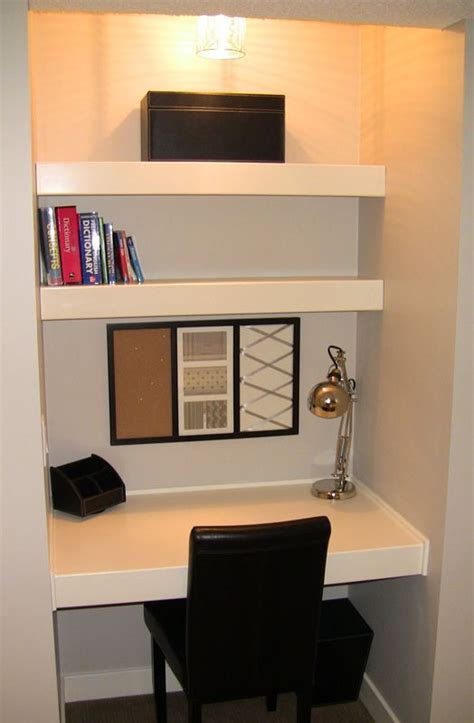 Built In Desk Ideas For Small Spaces Small Built In Desk This Would Be Awesome In The Office Home Is Where The Is