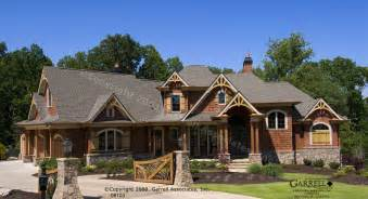 Mountainside Home Plans Mountain Craftsman Style House Plans Stone For Front