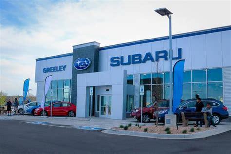 Colorado Subaru Dealers Greeley Subaru Greeley Co 80634 8415 Car Dealership