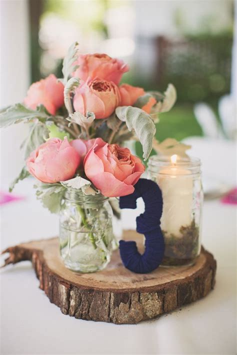 navy and coral wedding centerpieces navy blue wedding color schemes stunning ideas decor