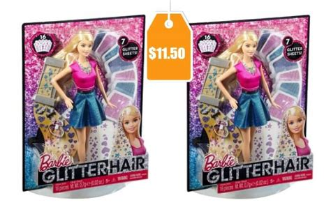 design doll code barbie glitter hair design doll 11 50 at target today