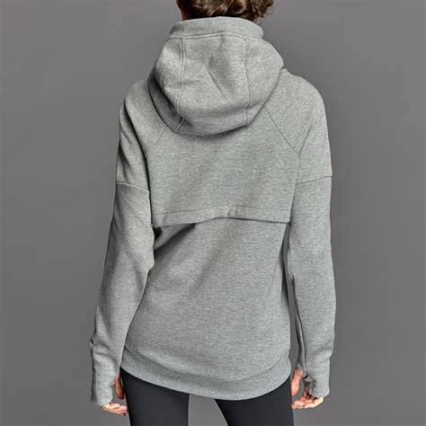 womens clothing nike womens tech fleece hoodie carbon