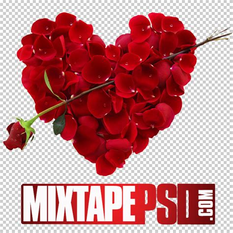 free valentine templates for photoshop free red flowers heart template mixtapepsd com