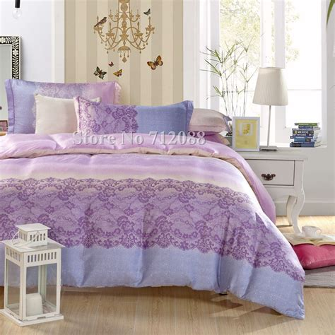 blue and purple comforter sets wholesale luxurious tencel 4pcs full queen king bedding