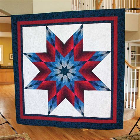 quilt pattern lone star 32 best star quilt patterns images on pinterest mccall s