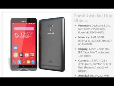 Hp Asus Engine 6 Harga Hp Asus Zenfone 6