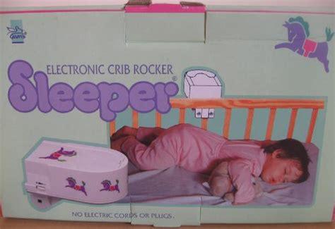 Electronic Crib Rocker Sleeper electronic crib rocker sleeper for baby s 17 44