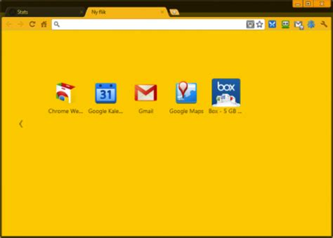 Chrome Theme Yellow | brighten your browser with solid color google chrome