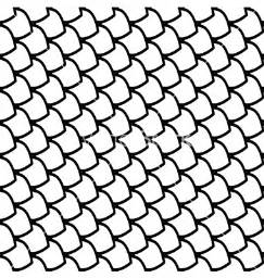 Outline Of A Fish Scale by The Gallery For Gt Black And White Paisley Frame