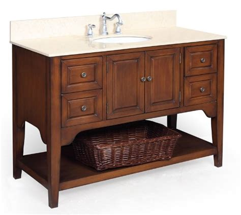 craftsman and mission style bathroom vanities