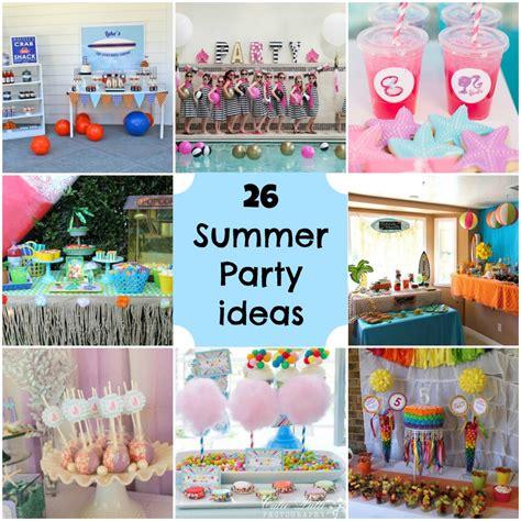 summer party ideas michelles party plan