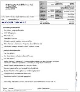 sales handover document template v12 4 47 handover checklist