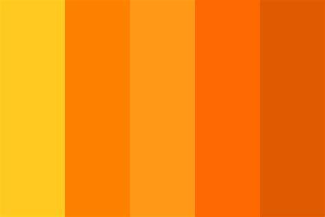 orange hex color channel orange color palette