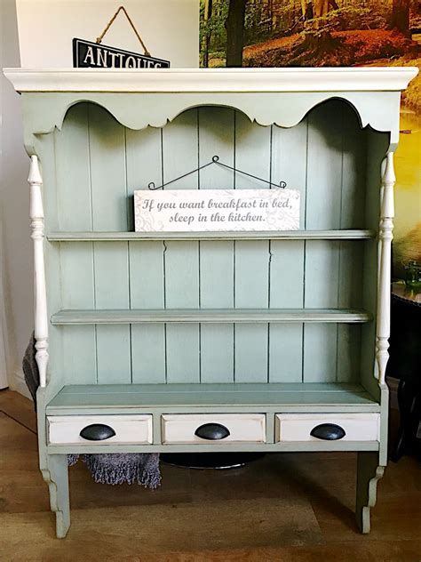 Shabby Chic Painted Furniture 5681 by Beautiful Vintage Wall Dresser Painted In Autentico Dried