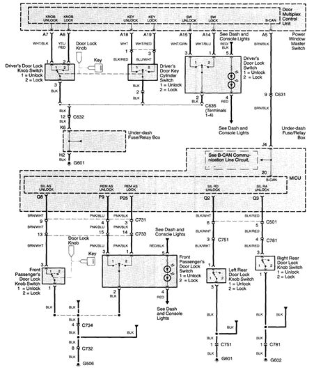 wiring diagram keyless entry k grayengineeringeducation