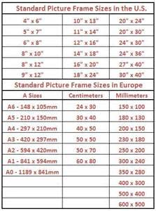 Graphic Blinds Best 25 Standard Picture Frame Sizes Ideas On Pinterest