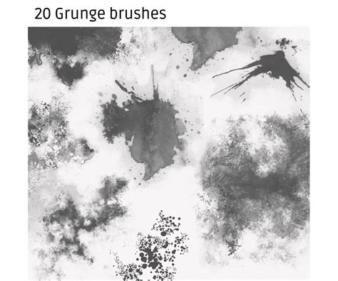 photoshop brushes high res grunge brushes buy photoshop brushes gimp