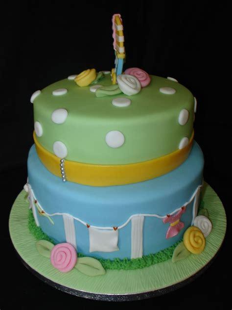 Unisex Baby Shower Cake by Unisex Babyshower Fondant Cake Cakecentral
