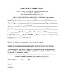 Request Letter Format For Gr Waiver Sle Waiver Form Free Printable Documents