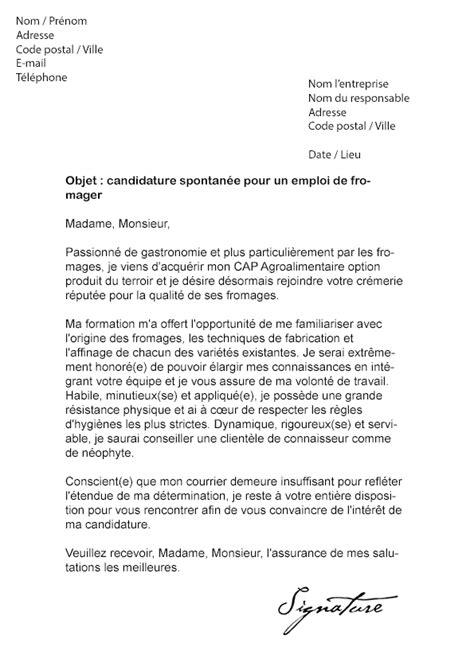 Exemple De Lettre De Motivation Vente Alimentaire 9 Lettre De Motivation Agroalimentaire Format Lettre
