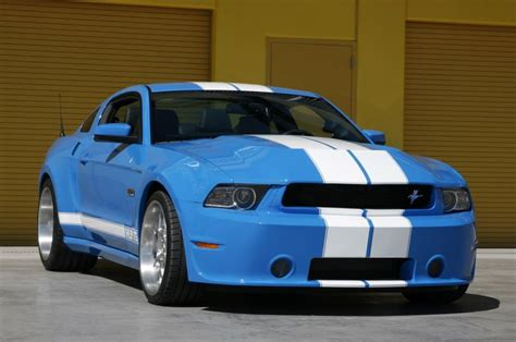 shelby wide kit for ford mustang gt500 2010 2014 wbk 1