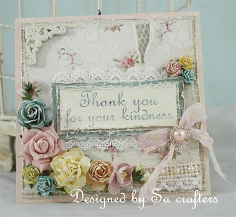 Handmade Shabby Chic - beautiful handmade shabby chic cards vintage home design