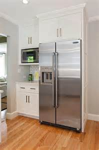 kitchen refrigerator cabinet modern farmhouse kitchen design home bunch interior