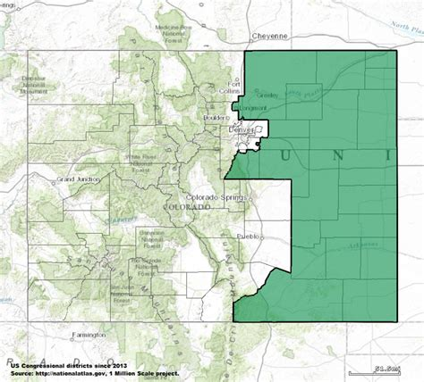 map of oregon 4th congressional district colorado s 4th congressional district