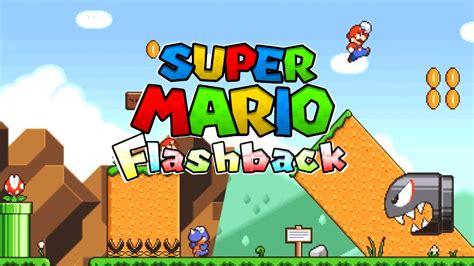 fan made mario games super mario flashback trailer hd otro mario fan game