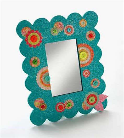 mirror craft paper dollar store craft mirror mod podge rocks