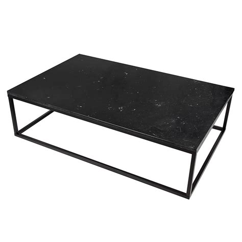 black marble coffee table prairie black marble coffee tableby temahome eurway