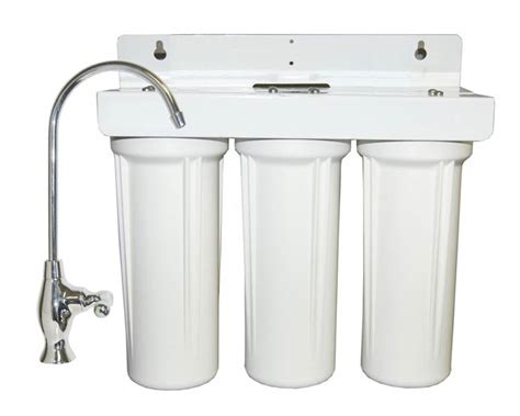 water filter sink sink water filter system by bestfilters three