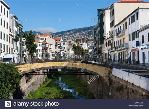 buy house madeira view of funchal and the old river bed in madeira santa luzia stock photo royalty