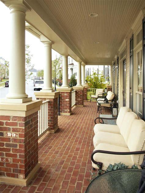 brick front veranda schritte search viewer hgtv
