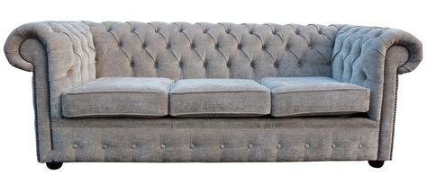 fabric settee buy mink coloured fabric chesterfield sofa bed online
