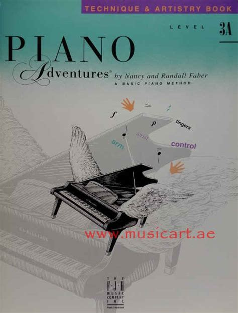 Piano Adventures Technique Book 3a piano adventures technique artistry book level 3a