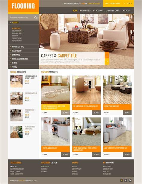 modern flooring opencart template 40721